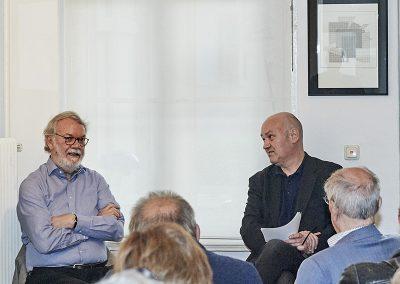 Wulf Herzogenrath und Steffen Damm