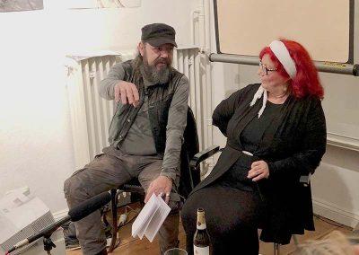 Bert Papenfuß und Annelie Harnisch