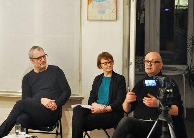 Via Lewandowsky, Sarah Alberti, Steffen Damm (v.l.)